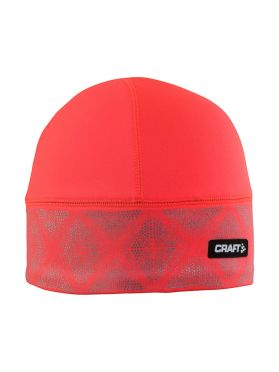 Craft Brilliant 2.0 running winter hat red