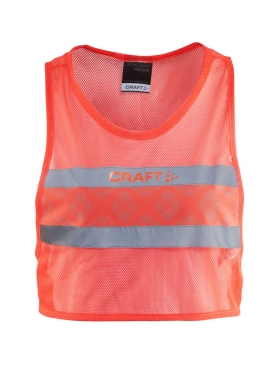 Craft Brilliant 2.0 running visibility vest shock women