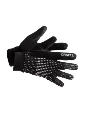 Craft Brilliant 2.0 thermal running glove black/reflective