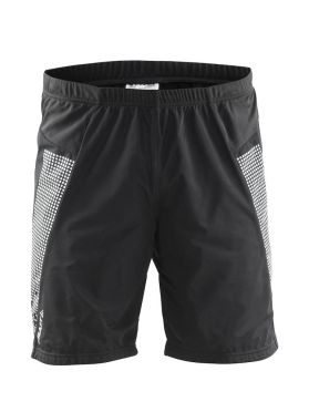 Craft Cover warm running short black men