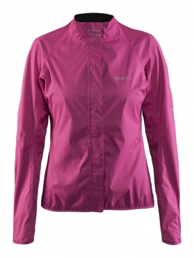 Craft Velo rain cycling jacket pink/smoothie women