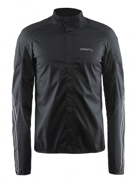 Craft Velo rain cycling jacket black men
