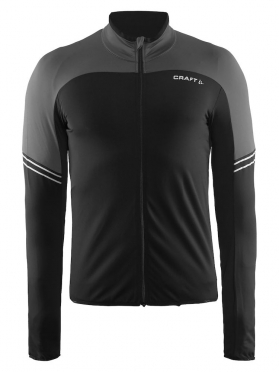 Craft Velo thermal cycling jersey long sleeve black men