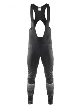 Craft Gran fondo thermal wind bibtight black men