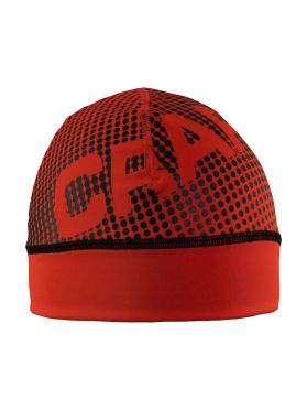 Craft Livigno printed hat red/black