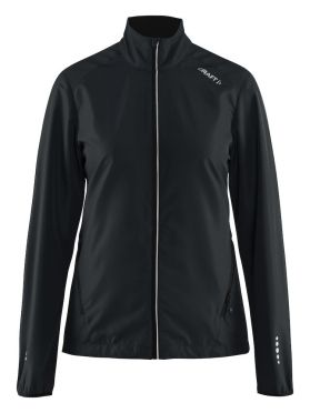 Craft Mind blocked running jacket black women