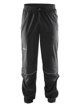 Craft Mind blocked running pants black men