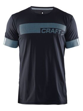 Craft Breakaway N2 short sleeve running shirt gravel men