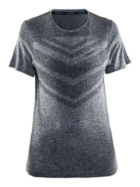 Craft Cool comfort short sleeve baselayer black/melange women