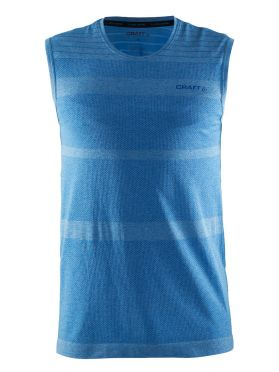 Craft cool comfort sheeveless baselayer blue men