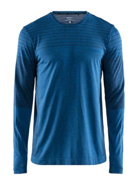 Craft cool comfort long sleeve baselayer blue men