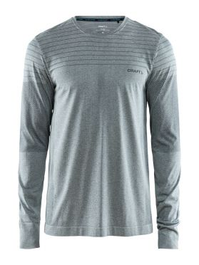 Craft cool comfort long sleeve baselayer grey/melange men