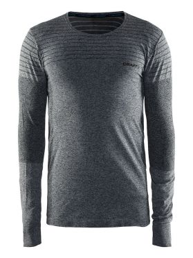 Craft cool comfort long sleeve baselayer black/melange men