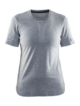 Craft ride cycle jersey gray women