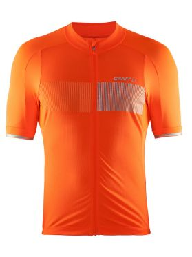 Craft Verve Glow cycling jersey orange men