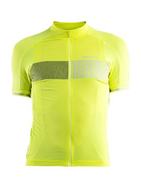 Craft Verve Glow cycling jersey yellow men