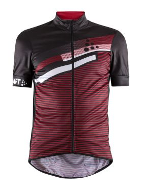 Craft Reel Graphic cycling jersey red men