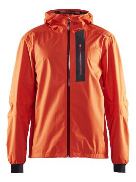 Craft ride rain jacket red men