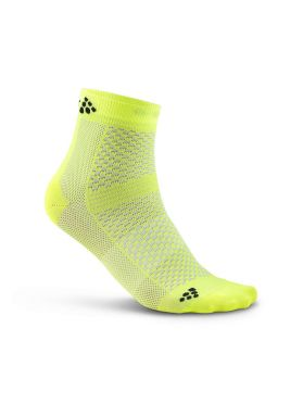 Craft Cool Mid socks yellow 2-Pack