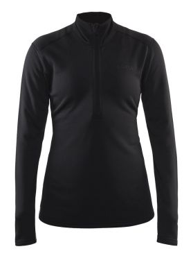 Craft Sweep halfzip ski mid layer black women