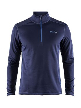 Craft Sweep halfzip ski mid layer blue/imperial men