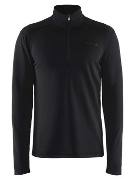 Craft Sweep halfzip ski mid layer black men