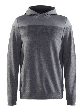 Craft Tag hoodie ski mid layer gray men