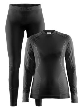 Craft Seamless Zone 2-Pack baselayer set black women