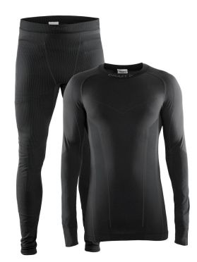 Craft Seamless Zone 2-Pack baselayer set black men