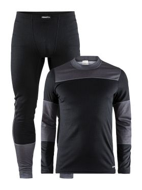 Craft Active 2-Pack baselayer set black/grey men