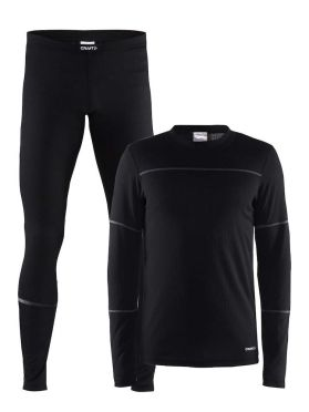 Craft Active 2-Pack baselayer set black men