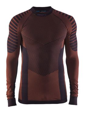 Craft Active intensity crewneck long sleeve baselayer aubergine men