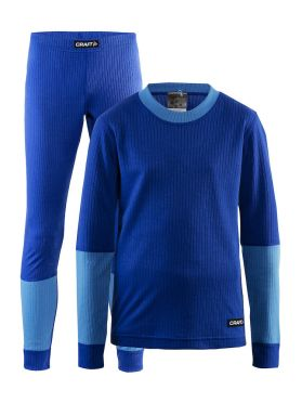 Craft Active 2-Pack baselayer set blue junior