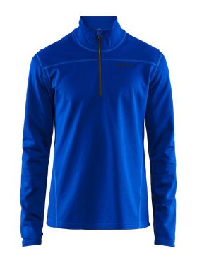 Craft Pin halfzip ski mid layer blue/burst men