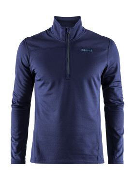 Craft Pin halfzip ski mid layer blue/maritime men