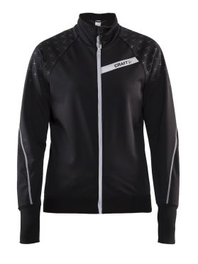 Craft belle glow jacket black women