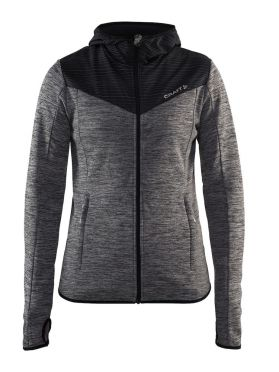 Craft Breakaway jersey running jacket gray women