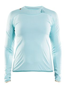 Craft Shade long sleeve running shirt blue women