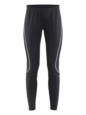 Craft Force wind cross-country ski pants tight black women