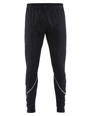 Craft Force wind cross-country ski pants tight black men
