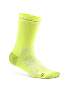 Craft Visible socks yellow