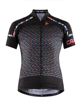Craft Empress short sleeve cycling jersey black/multi women