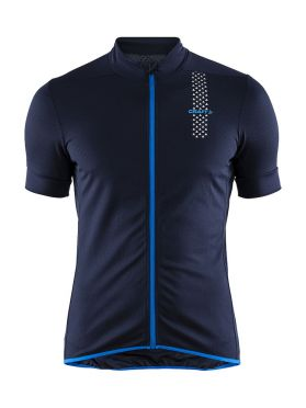 Craft Rise cycling jersey blue men