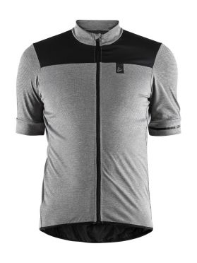 Craft Point cycling jersey grey men