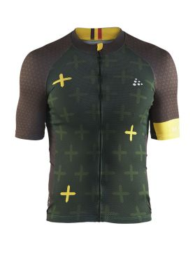 Craft Monument cycling jersey short sleeve RVV de Ronde men