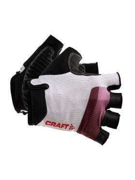 Craft Go Bike gloves white/red unisex