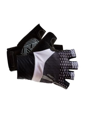 Craft Roleur bike gloves white/black unisex
