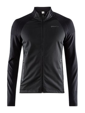 Craft Urban run fuseknit running jacket black men