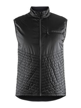 Craft Urban run body warmer running jacket black men