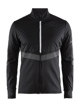 Craft Urban run thermal wind running jacket black men